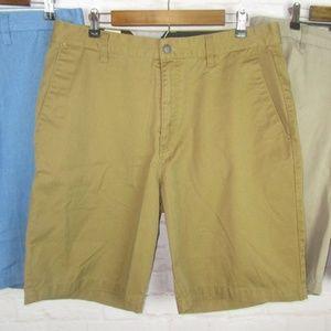 Volcom Men's Khaki and Blue Lot of 3 Shorts